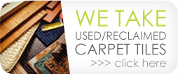 Green Carpet Tile Recycling & Reclamation Services